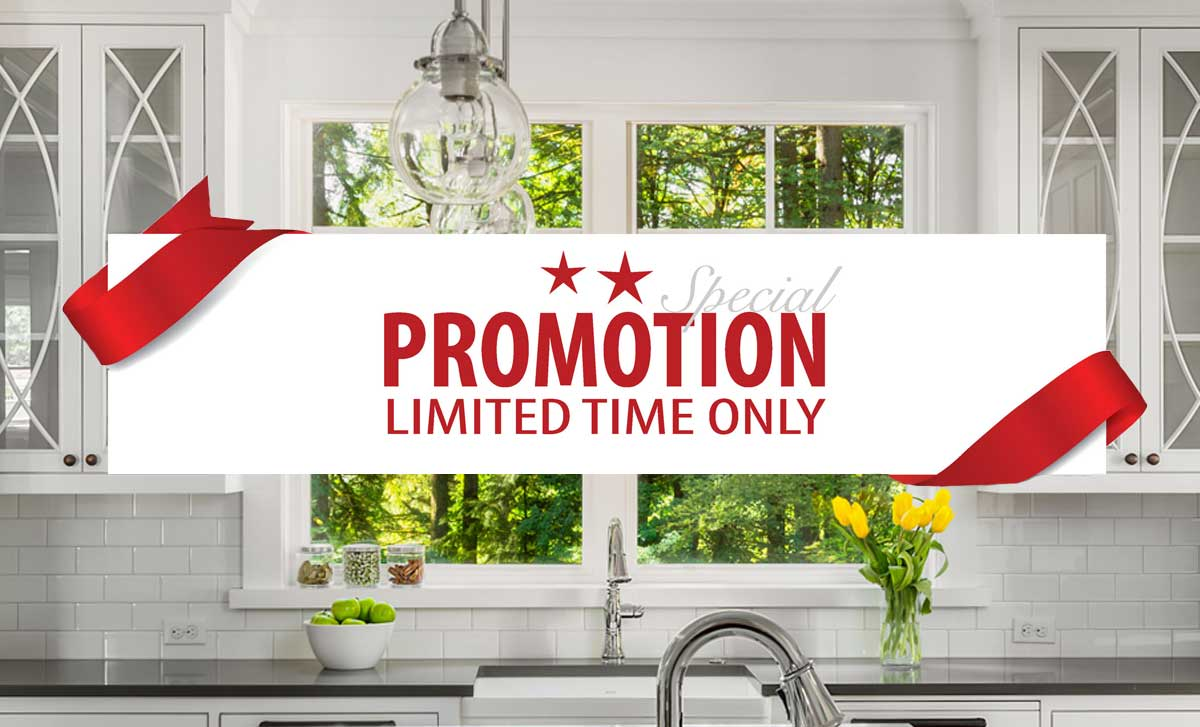 Window and Siding Promotions in Houston